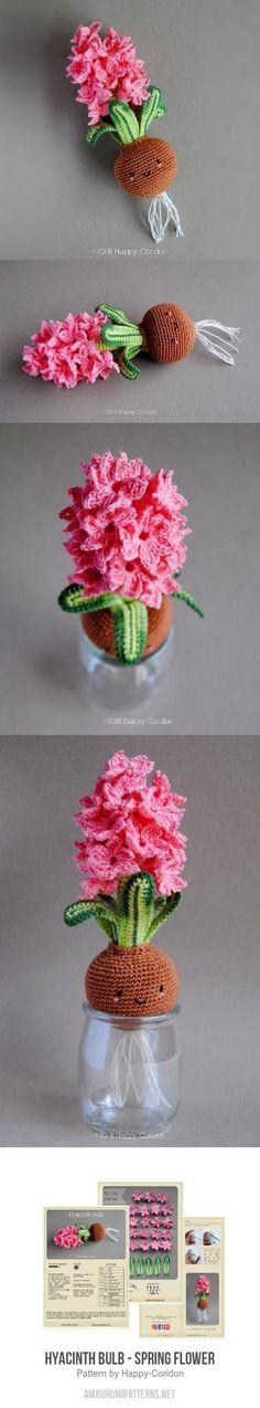Hyacinth Bulb - Spring Flower Amigurumi Pattern $3