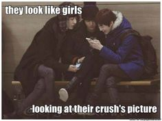 They look like me and my friends looking at them oh god | allkpop Meme Center