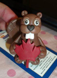 fondant beaver - Google Search