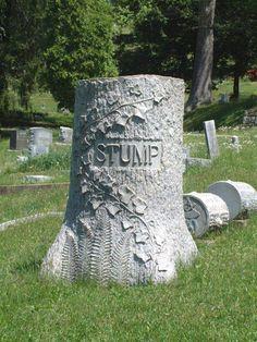 Hand Carved Granite Tree Monument