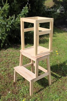Great screen Ikea learning tower thoughts So here we move – the … - Babyzimmer Ikea Hack Kids, Ikea Hack Kitchen, Ikea Montessori, Ikea Hack Learning Tower, Play Kitchen Diy, Diy Toddler Bed, Kitchen Step Stool, Diy Stool, Diy Nightstand