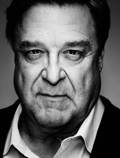 ACTORS IN BLACK AND WHITE. John Goodman