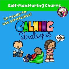 Calming StrategiesThere are so many kids today that have difficulty controlling their emotions due to many factors and sometimes in manifests itself in negative behavior.  Its our job to help get them back to calm as quickly as possible.This product contains four charts; two in color and two in black and white.