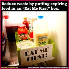 Dollar Store Crafter: No More Food Waste ~ Food Hack
