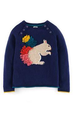 Mini Boden 'Fun' Sweater (Toddler Girls, Little Girls & Big Girls) | Nordstrom
