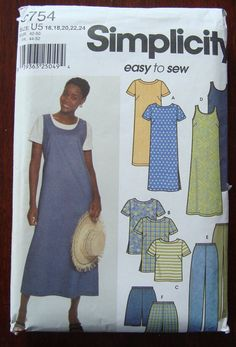 Find everything but the ordinary Tunic Sewing Patterns, Tunic Pattern, Simplicity Sewing Patterns, Clothing Patterns, Dress Patterns, Easy Clothing, Maternity Clothing, Clothing Ideas, Couture