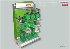 Ryrex Department Store, Pyrex, Convenience Store, Convinience Store