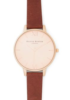 Time Floats By Watch in Copper, #ModCloth