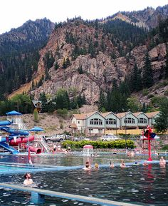 Ouray, Colorado Hot Springs pool