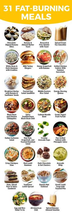 31 fat burning meals