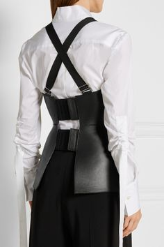 Zana Bayne, Asturd leather bustier