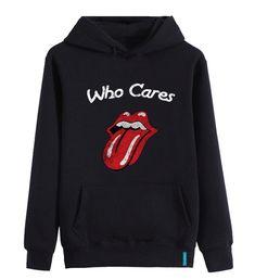 """Who Cares""  #hoodie #streetstyle #sweatshirt #bernaakkurt"