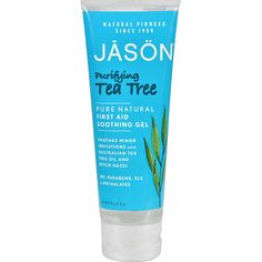 JASON NATURAL PRODUCTS TEA TREE GEL(TUBE), 4 OZ ** Check out this great beauty product.