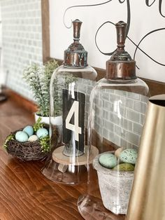 Thrift Store Cloches Makeover Cloches are so versatile in decor. This thrift store cloches makeover was easy to do and gave the cloches the aged look I was wanting.