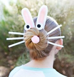 We're so excited that it's almost time for the Basic Bunny Bun!! This adorable Easter hairdo is too cute to miss!