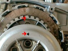Line up the hole in the clutch cover when reinstalling it. It only goes on in one position. http://www.InTheWind.org