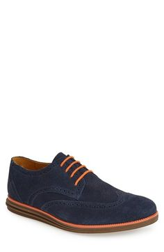 Free shipping and returns on Sandro Moscoloni 'Brody' Suede Wingtip (Men) at Nordstrom.com. Sharp contrast details punch up a casual wingtip formed from supple suede.