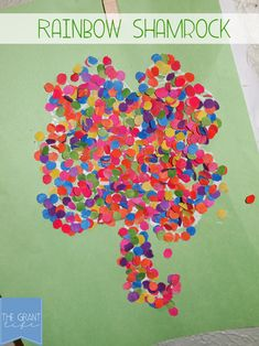Activities for Kids: Rainbow Shamrocks