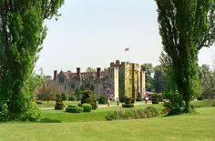 """""""Hever Castle on the walk from the car park"""" by Lara E. Eakins"""