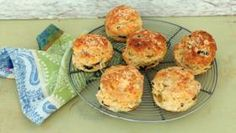 BBC Food - Candice Brown - The Great British Bake Off Recipes - Smoky cheese and olive scones Paul Hollywood, Scones Recipe Bbc, Bake Off Recipes, Baking Recipes, Bbc Recipes, Cake Recipes, Flour Recipes, Bread Recipes, Olives