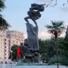 'Albanian independence was declared in Vlora on 28 November 1912, and is commemorated with both this monument and a museum.' Albania: the Bradt Guide; bradtguides.com/albania
