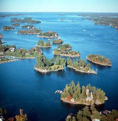Pullman Island 1000 Islands - Photo from helicopter Beautiful Places To Visit, Great Places, Places Around The World, Around The Worlds, Places To Travel, Places To Go, Exotic Places, Places Of Interest, Island Life
