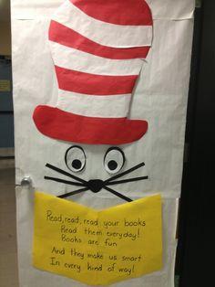 42 super Ideas for classroom door decorations dr seuss book Dr Seuss Hat, Dr Seuss Week, Dr. Seuss, Teacher Door Decorations, Teacher Doors, School Doors, Classroom Door, Classroom Ideas, Classroom Organization