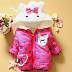 Shop online gorgeous posh peach colored soft fur winter jacket for ...