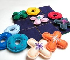 Evgie felt travel games 1 Felt travel games for planes, trains or automobiles