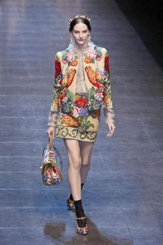 Dolce & Gabana Fall 2012 |Pinned from PinTo for iPad|