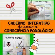 Código 521 Caderno interativo de apoio à consciência fonológica