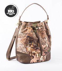 Realtree Girl Evlyn Bucket Handbag - 2015 New Line #Realtreegirl