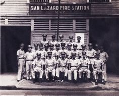 San Lazaro Fire Station No. Old Pictures, Old Photos, Firemen, Firefighters, Pinoy, Manila, Historical Photos, Wwii, Philippines