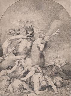 John Hamilton Mortimer.  'Death on a Pale Horse'.