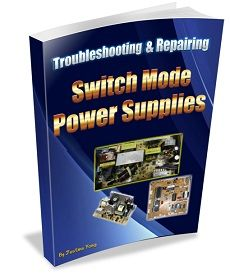 electronics repair made easy: How to troubleshoot CRT Television switch mode power supply problems (s. Electronics Basics, Electronics Components, Electronics Projects, Electronic Circuit Design, Switched Mode Power Supply, Crt Tv, Electrical Circuit Diagram, Power Supply Circuit, Electronic Schematics