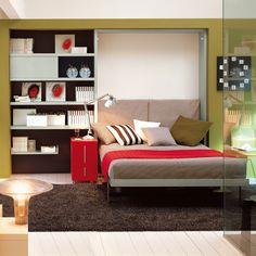 Ulisse Desk Bed Open