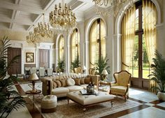 Interior , French Interior Design Mixing Fun and Latest Fashions for Cheerful Look : Grand Interior For French Home Idea For Awesome Look