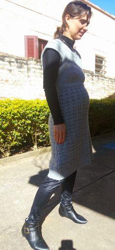 FEMINA - Modéstia e elegância (por Aline Rocha Taddei Brodbeck): Meu look gestante com legging de couro