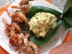 langostinos_risoto_aguacate Risotto, Guacamole, Mexican, Ethnic Recipes, Food, Avocado, Essen, Yemek, Mexicans