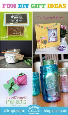 5 Fun DIY Gift Ideas! LivingLocurto.com