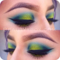 I love this look from @Sephora's #TheBeautyBoard http://gallery.sephora.com/photo/7818 Urban Decay Electric shadow collection