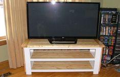 Diy Rustic TV Stand Plans