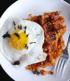 Miss Hangrypants: Kimchi Fried Rice Waffles
