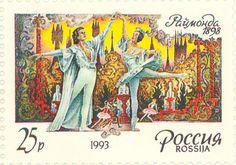 "1993 Russia - ""Raymonda"", ballet by Marius Petipa (1818-1910)"