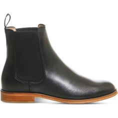 Office Belle leather Chelsea boots ($137) ❤ liked on Polyvore featuring shoes, boots, chelsea boots, leather slip on shoes, slip on leather boots, slip-on shoes and genuine leather boots