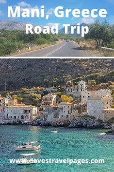 Our Road Trip in Mani Greece: Exploring the Wild Peloponnese. Few areas in Greece are as wild and remote as the Mani in the Peloponnese. We spent a week in this amazing region, and loved every minute of it. Here is how to explore Mani Greece. European Road Trip, Road Trip Europe, Europe Travel Tips, European Travel, Travel Destinations, Road Trips, Travel Guides, Greece Vacation, Greece Travel