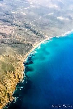 Limnos from above! Sandy Beaches, Greece Travel, Beautiful Islands, Greek Islands, Landscaping, Outdoors, Water, Greek Isles, Gripe Water