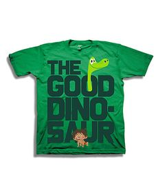 Another great find on #zulily! The Good Dinosaur Green Spot & Arlo Tee - Toddlers & Boys #zulilyfinds