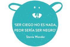 ¡Siempre nos ha encantado Stevie Wonder! Pero además de parecernos  un músico excepcional, admiramos enormemente su ironía y su maravilloso sentido del humor. Empezamos el fin se semana rindiéndonos ante tal genialidad.