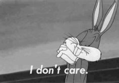I don't care.